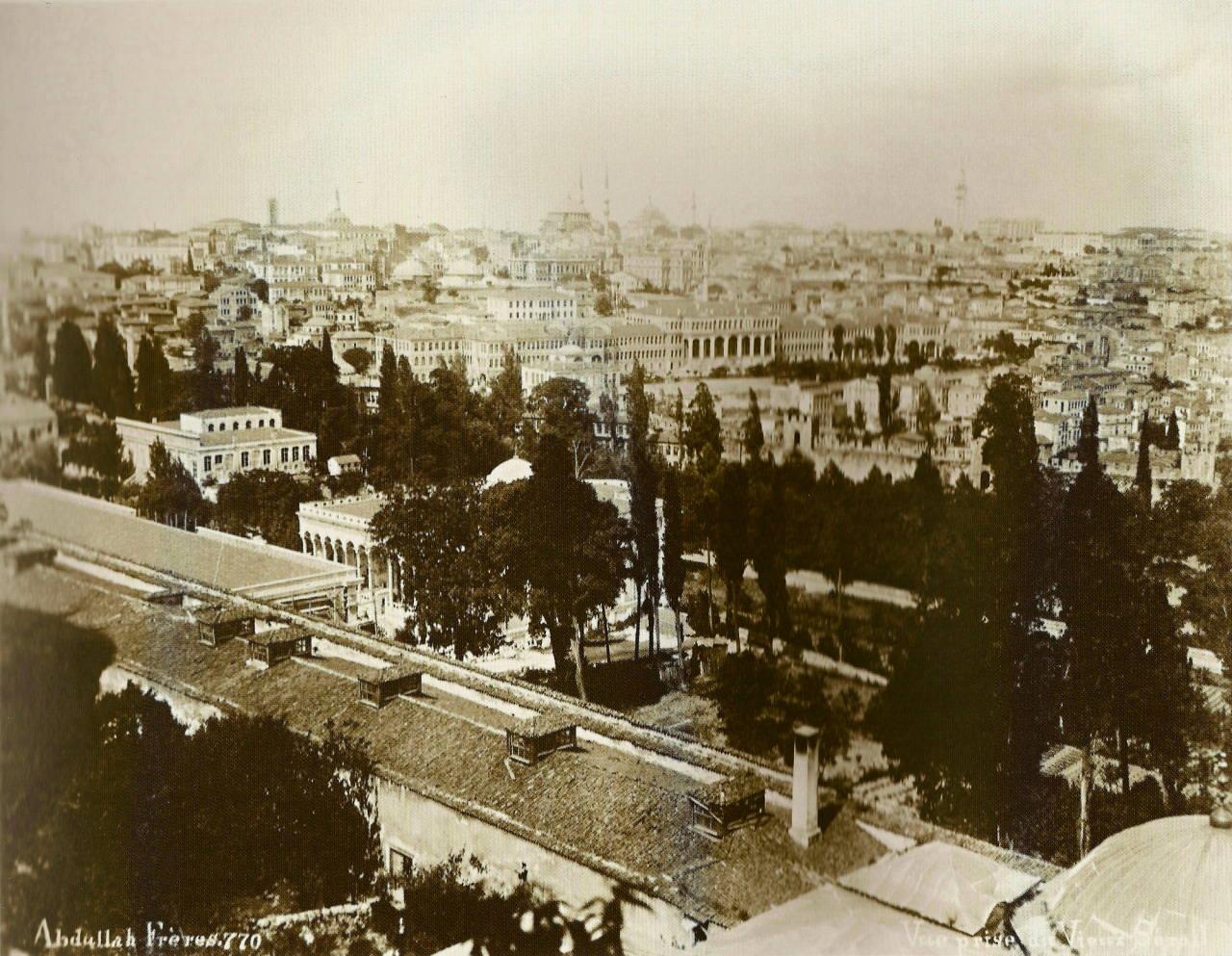 Adalet Kulesi'nden Tarihi Yarımada / Abdullah Fréres fotoğrafı
