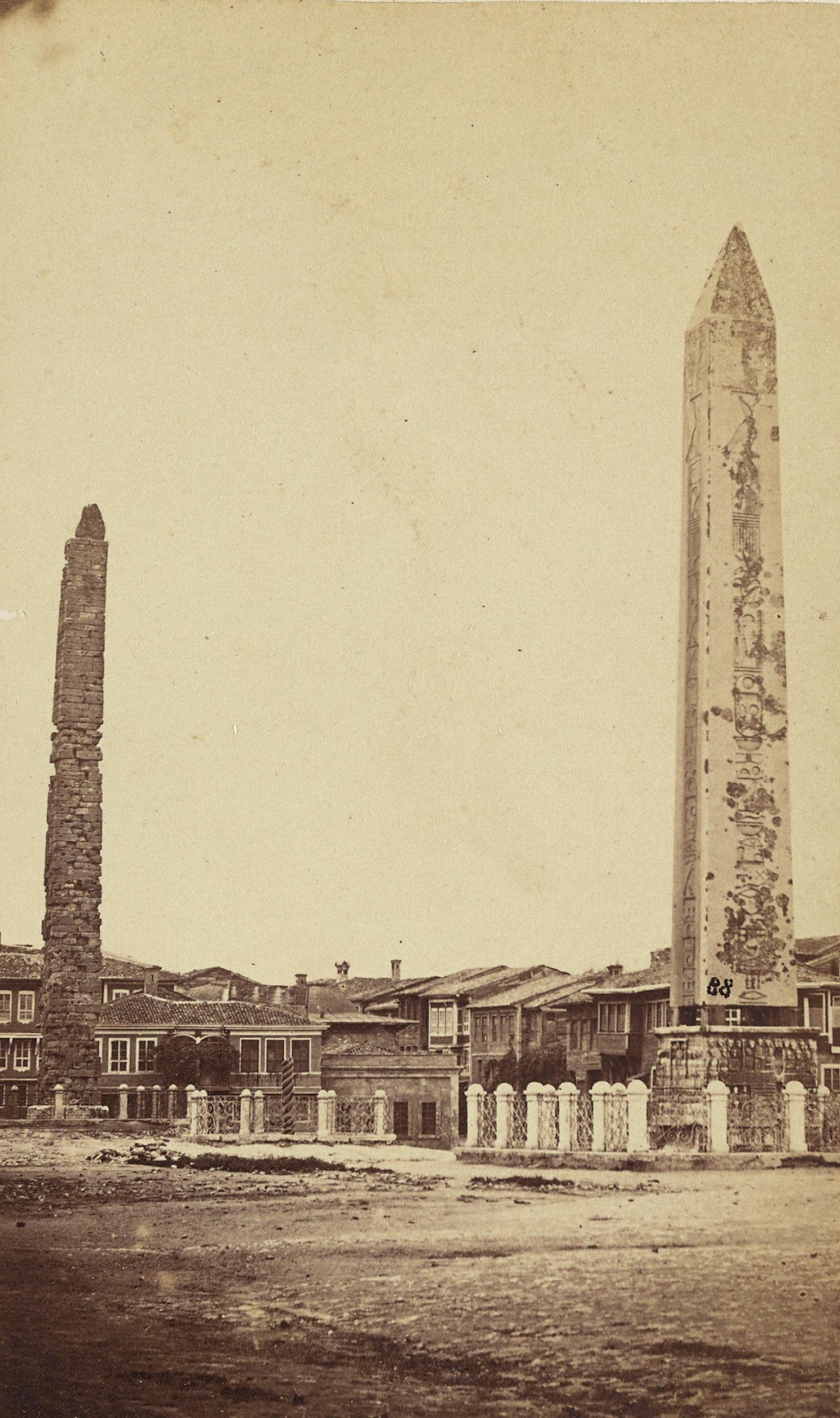 Atmeydanı / Pascal Sébah Fotoğrafı / 1870 | Eski İstanbul Fotoğrafları Arşivi