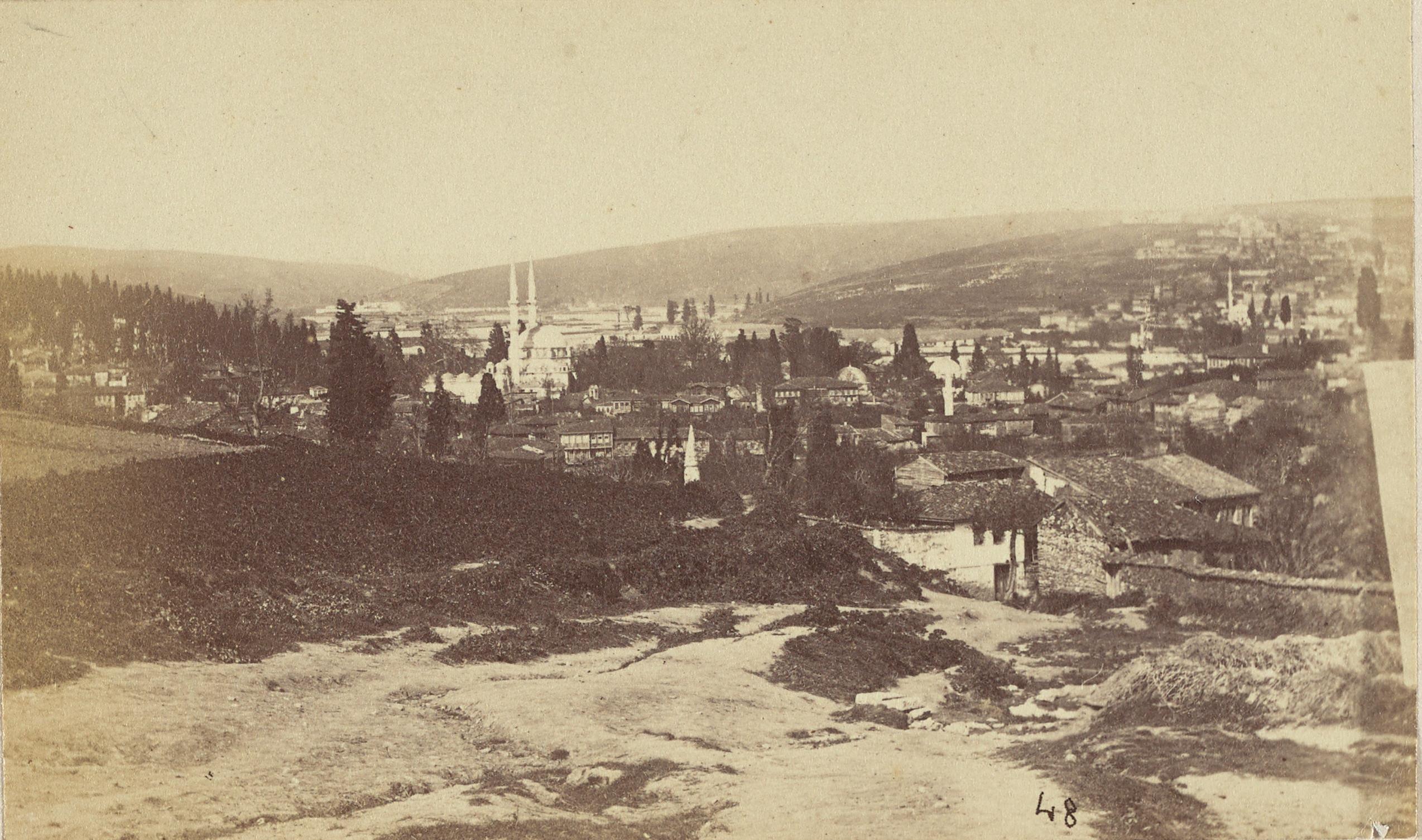 Beylerbeyi / Pascal Sébah Fotoğrafı / 1870