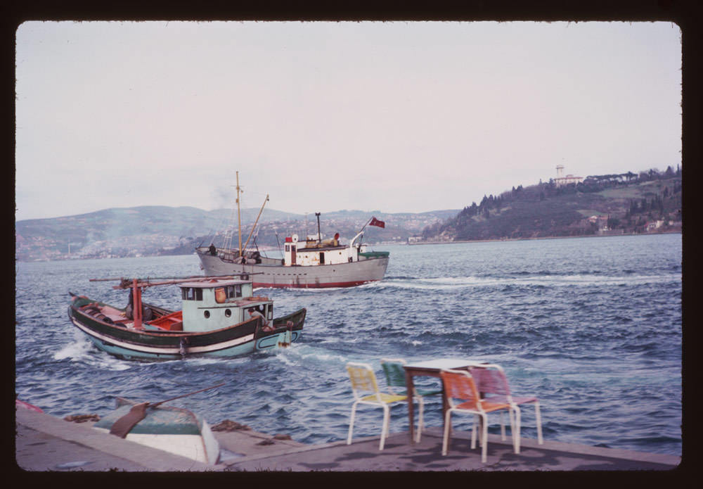 Boğaziçi / 6 Nisan 1965 Charles W. Cushman Photograph Collection