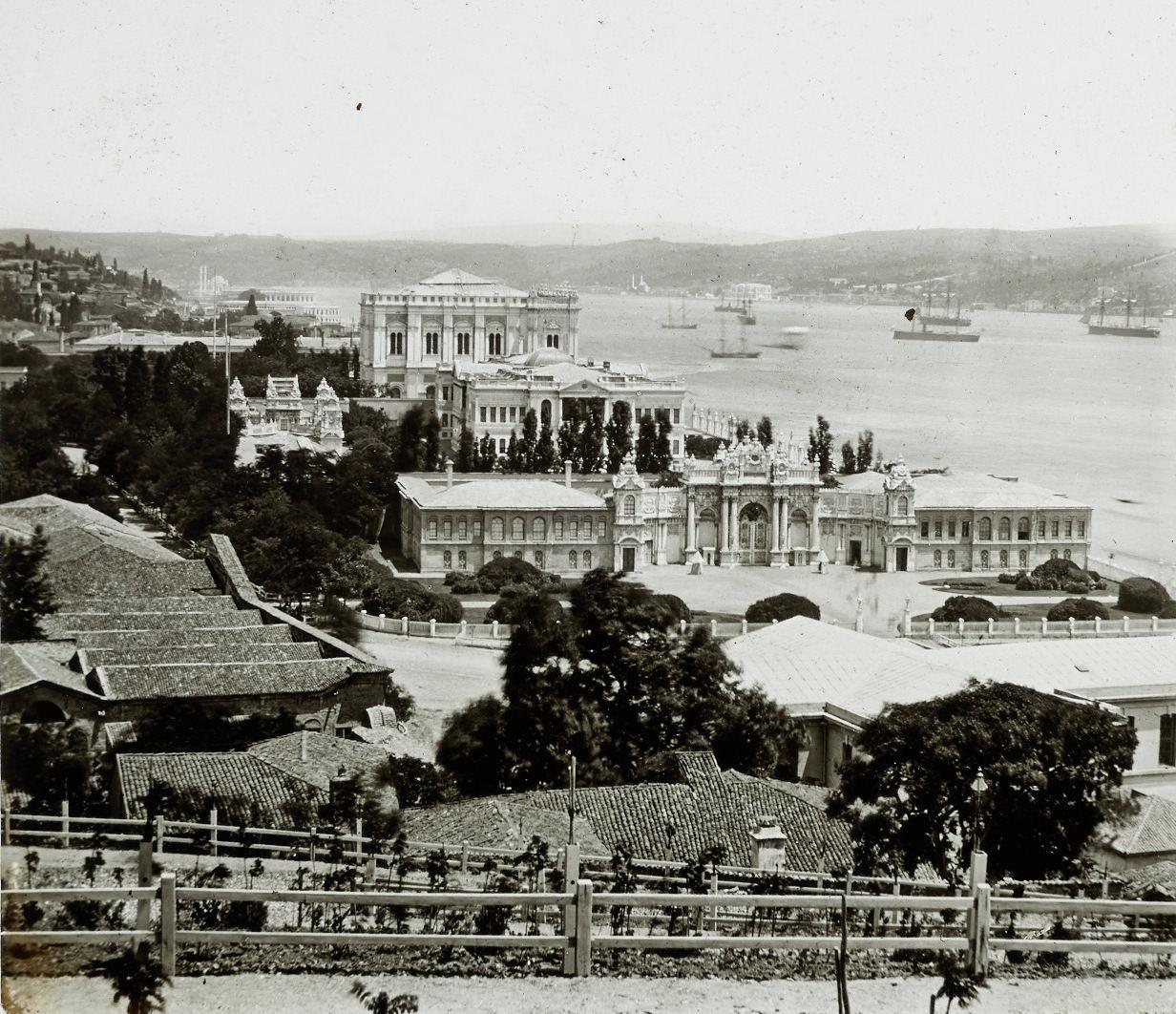 Dolmabahçe / Levis et Fils Fotoğrafı / 1850'ler