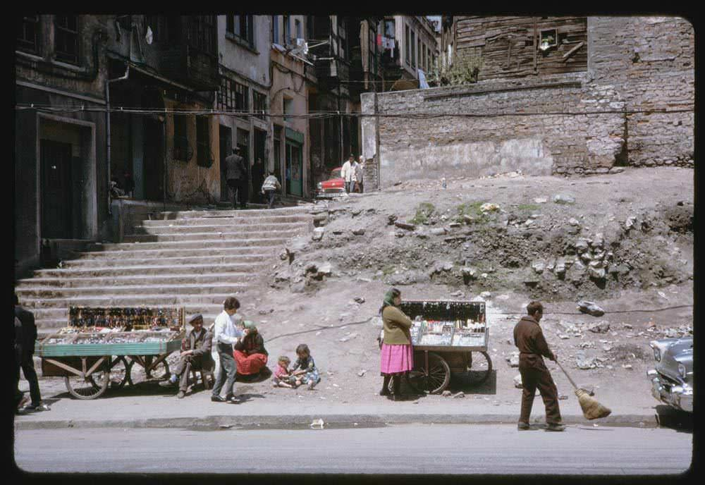 Meclis-i Mebusan Caddesi / Tophane / 13 Mayıs 1965 Charles W. Cushman Photograph Collection