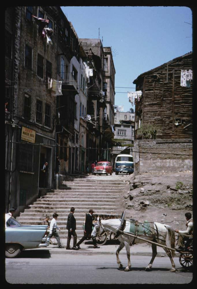 Meclis-i Mebusan Caddesi - Tophane 13 Mayıs 1965 Charles W. Cushman Photograph Collection