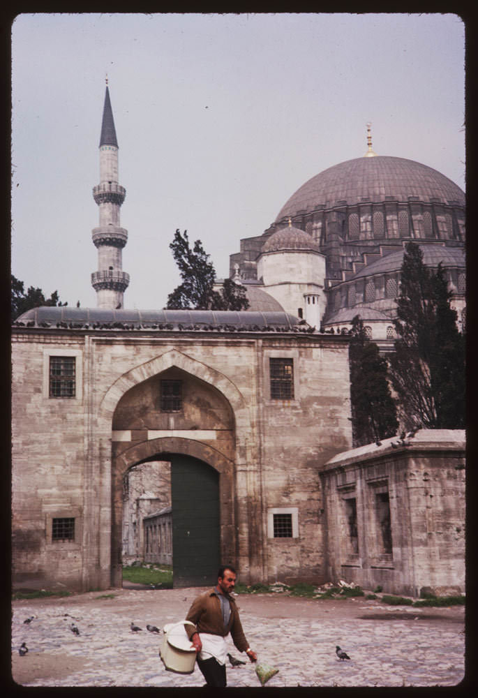 Süleymaniye Camii / 7 Nisan 1965 Charles W. Cushman Photograph Collection