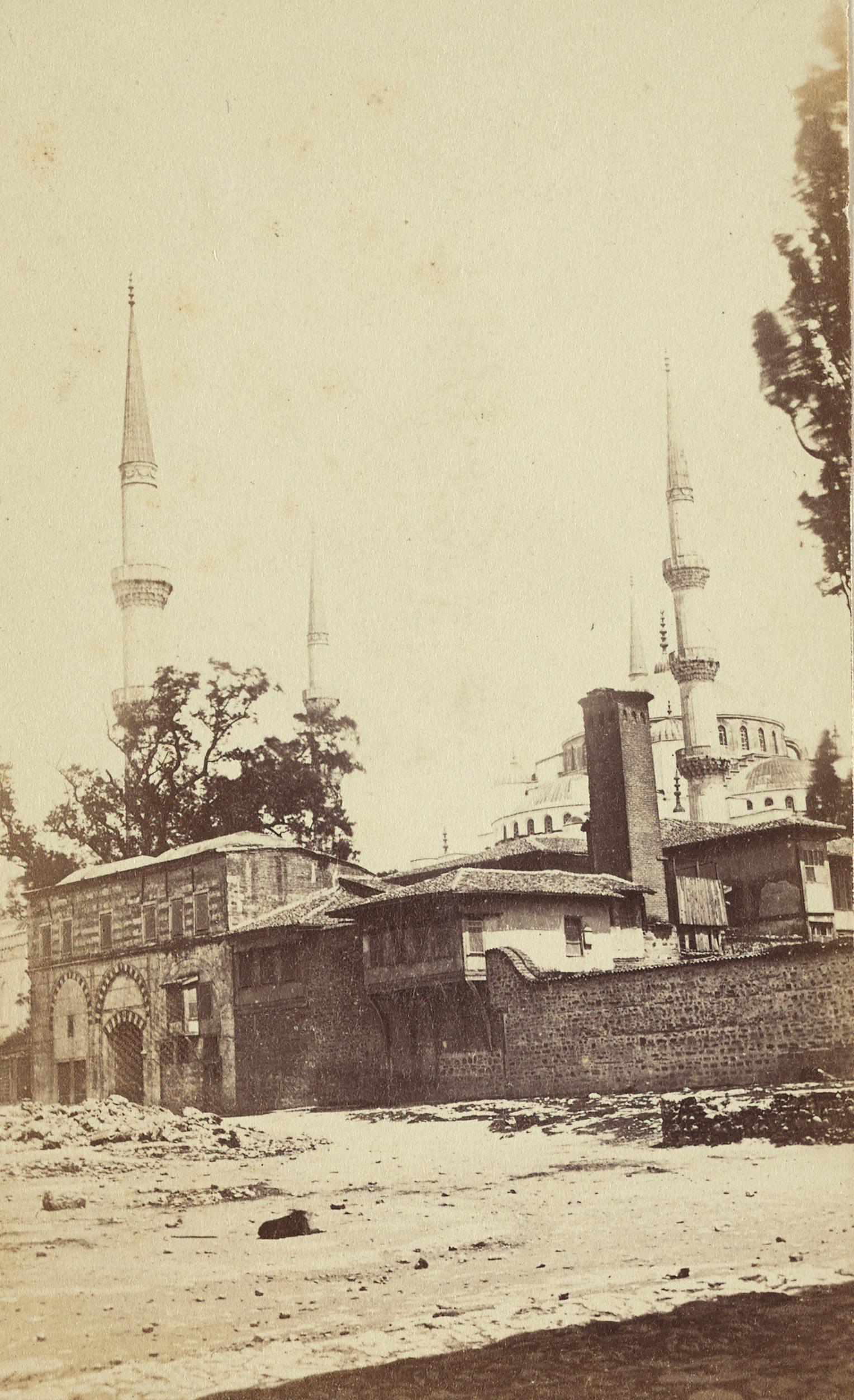 Sultan Ahmet Camii / Pascal Sébah Fotoğrafı / 1870
