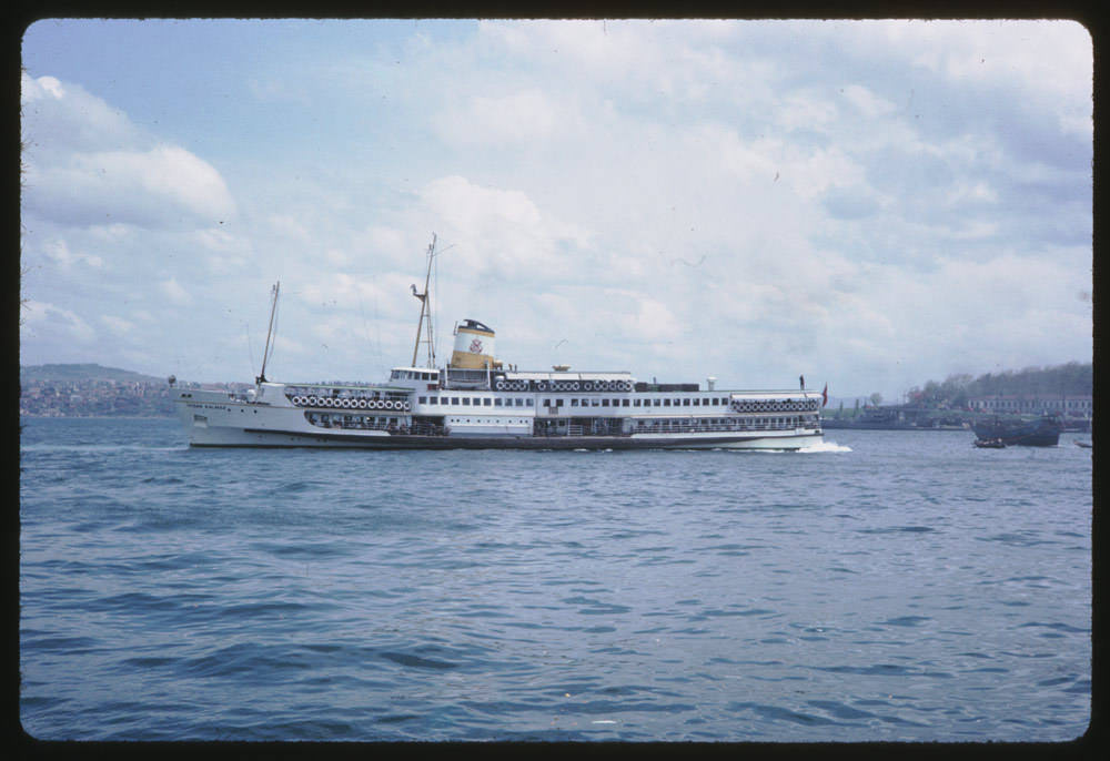 Vapur / 13 Mayıs 1965 Charles W. Cushman Photograph Collection