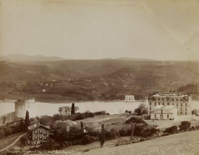 Robert Kolej ve Rumelihisarı / Sébah ve Joaillier Fotoğrafı / 1890'lar